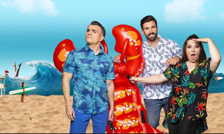 Ζαρίφη-Σταματόπουλος: Κερδίζουν το τηλεοπτικό κοινό με το «Καλοκαίρι #not» (photos)