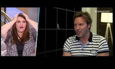 Η απίστευτη ατάκα του Τζώρτζογλου στην ερώτηση αν είναι έγκυος η Μαριόλα που θα γίνει viral (video)