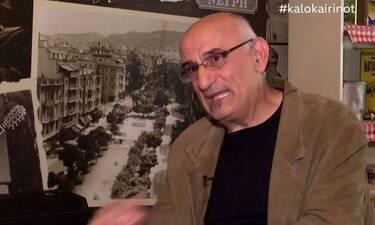Βαμβακίδης: «Έκανα πρόβα και με πήραν τηλέφωνο να μου πουν πως έχασα τον πατέρα μου σε ατύχημα»(vid)