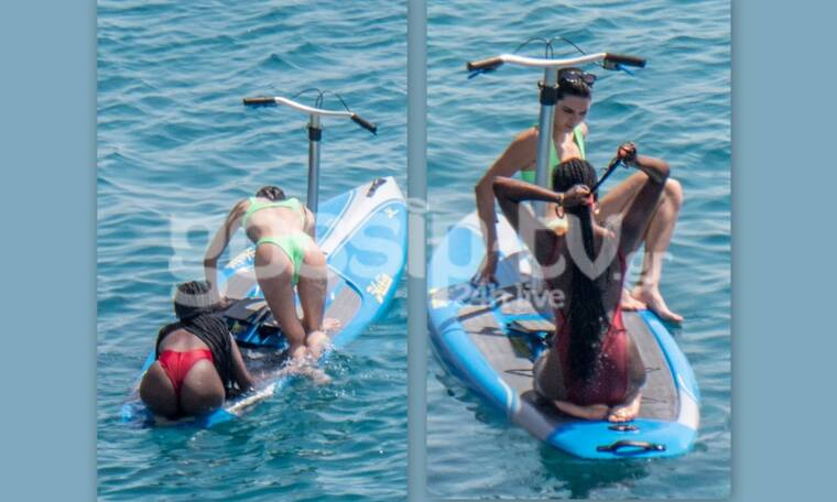 Kendal Jenner: Καρέ – καρέ η σέξι προσπάθεια να κάνει… water sports (Photos)