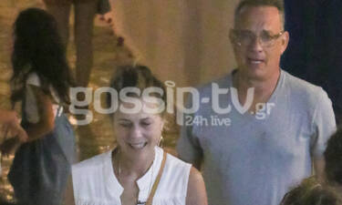 Tom Hanks- Rita Wilson: Πήγαν στα Κουφονήσια και δεν φαντάζεστε με τι «κόλλησαν» (photos)