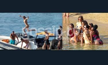 Kendall Jenner: Τρελό ξεφάντωμα στη Μύκονο- Οι πόζες και το πάρτι στο σκάφος (photos)