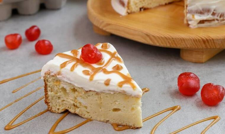 Απίθανη συνταγή Tres leches cake από τον Γιώργο Τσούλη