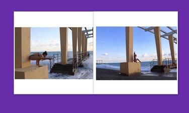 Ελληνίδα μάνα κάνει γιόγκα δίπλα στο κύμα και… ρίχνει το instagram! (Video)