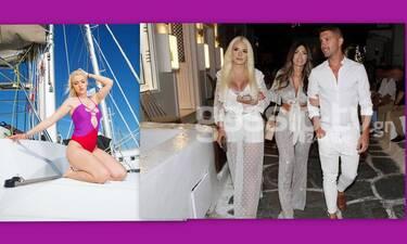 Στέλλα Μιζεράκη: Στράβωσε με τους παπαράτσι στα σοκάκια της Μυκόνου: «Έλεος»! (Video & Photos)