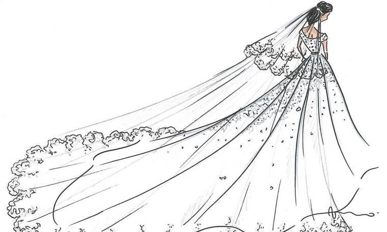 Το βασιλικό νυφικό που χρειάστηκαν 300 ώρες για να κεντηθεί! Ποια το φόρεσε; (photos)