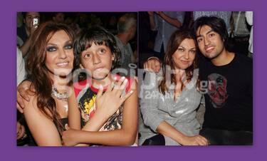 Κάποτε αγκάλιαζε η Γαρμπή το γιο της, τώρα ο Δημήτρης Σχοινάς αγκαλιάζει την Καίτη (photos)