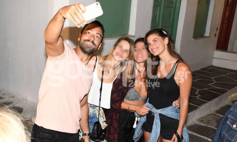 Μπόμπα-Τανιμανίδης: Πήγαν στη Μύκονο κι άρχισαν τις selfies (photos)