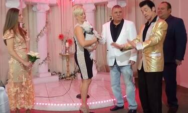 Γιώργος Τράγκας: Ανανέωσε τους όρκους γάμου με τη σύζυγό του στο Λας Βέγκας (video)