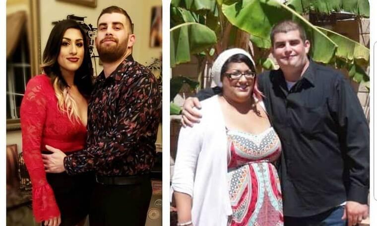 Απίστευτο! Το ζευγάρι που έχασε συνολικά 80 κιλά! Το πριν και το μετά! (photos)