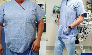Το διάστημα ανάμεσα στις γεννήσεις των δύο παιδιών του έχασε 70 κιλά! Απίστευτη αλλαγή! (photos)