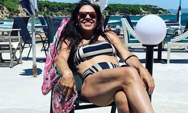 Ναταλία Δραγούμη: Δείτε την να κάνει τις βουτιές της και θα τρελαθείτε με το κορμί της!