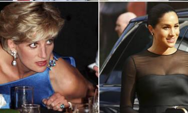 Diana, Meghan Markle & Kate Middleton «ποζάρουν» μαζί σε μια φωτογραφία που πρέπει να δεις