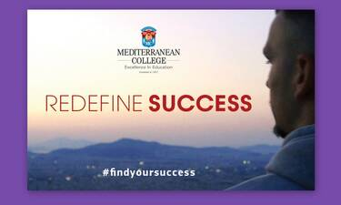 Mediterranean College- Redefine Success