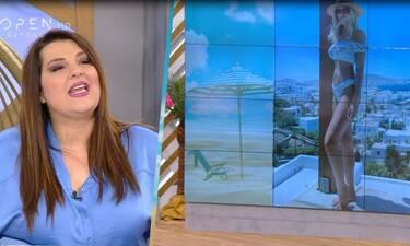 Ζαρίφη: Οι απίστευτες παρατηρήσεις σε φώτο της Καινούργιου με μπικίνι! (Video)