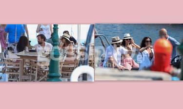 Σωτηροπούλου – Μαραβέγιας: Οι μαγευτικές διακοπές στην  Ύδρα και η βόλτα με φουσκωτό (Photos)