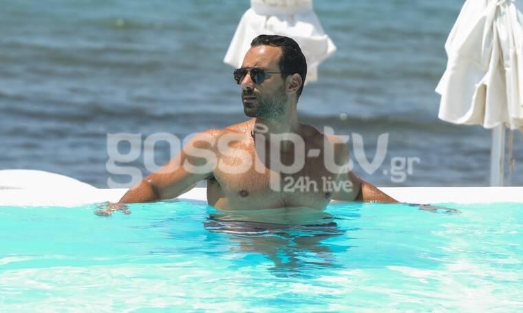 Σάκης Τανιμανίδης: Είδαμε τους κοιλιακούς του και… είναι «μπόμπα» (Photos)