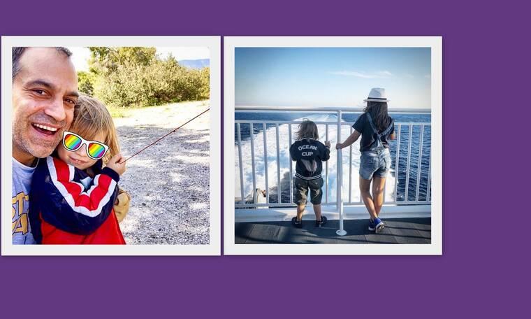 Κρατερός Κατσούλης: Οικογενειακές διακοπές με τα παιδιά του – Πού βρίσκονται; (photos)