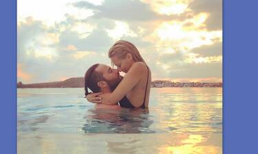 Κώστας Φραγκολιάς: Full in love - Το καλοκαίρι με τη σύντροφό του σε φωτογραφίες (photos)