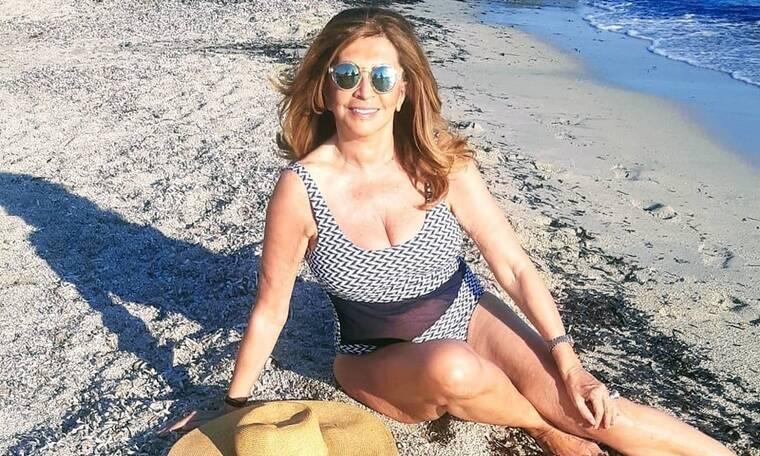 Μιμή Ντενίση: Αυτός είναι ο «παράδεισος» της στο Θεολόγο (Photos)