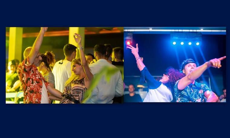 Μουτσινάς-Σολωμού:Πήγαν σε club και ξεσάλωσαν μέχρι το πρωί (photos)