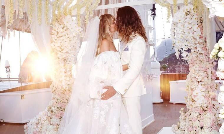Η Heidi Kloum είναι η νύφη της χρονιάς- Δε θα πιστεύετε πόσα νυφικά φόρεσε (photos+video)