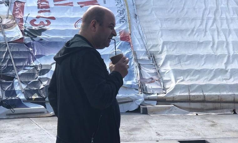 Η τούμπα του Σεφερλή στα γυρίσματα της ταινίας του που θα γίνει viral (video)