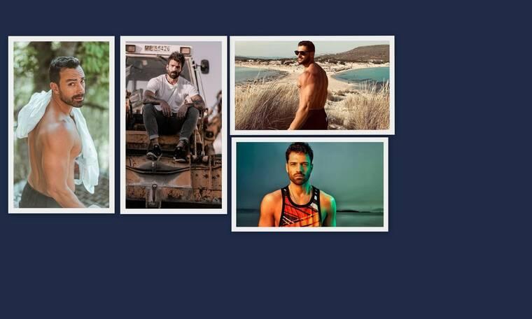 Κοιλιακοί σε πρώτο πλάνο για τους άντρες της ελληνικής showbiz (photos)