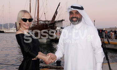 Πλήθος επωνύμων στην εκδήλωση της Πρεσβείας του Κατάρ στην Ελλάδα (Photos)