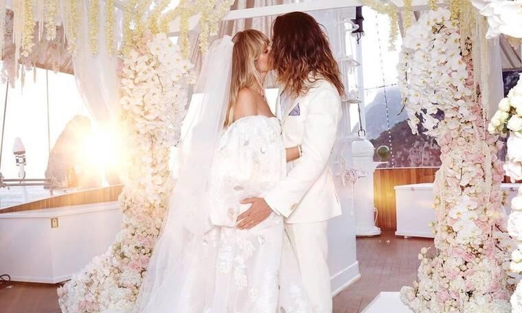 Heidi Klum: Το γαμήλιο ταξίδι και η φωτογραφία topless που «έριξε» το Instagram (Photos)