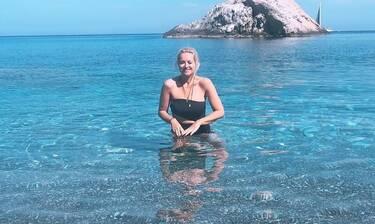 Μαρία Μπεκατώρου: Το φωτογραφικό album των διακοπών της (photos)