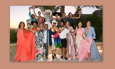 Ζούλιας-Κονδυλάτος: Παρουσίασαν τη νέα τους συλλογή στη Μύκονο (photos)