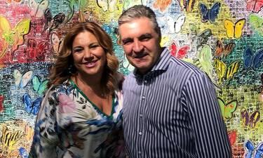 Δέσποινα Μοιραράκη: Το δημόσιο μήνυμα αγάπης για τον σύζυγό της (photos)