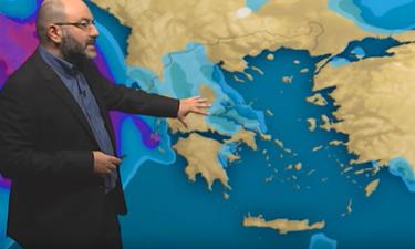 Καιρός: Το μετεώγραμμα του Σάκη Αρναούτογλου για καιρό και θερμοκρασίες μέχρι 22 Αυγούστου (video)