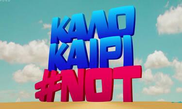 Καλοκαίρι #not: Χωρίς την Κατερίνα Ζαρίφη και τον Ηλία Γκότση! Τι συνέβη; (Video)