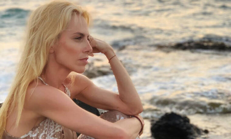 Ντορέττα Παπαδημητρίου: Η «μάχη» με τους γιους της στη θάλασσα (pics)