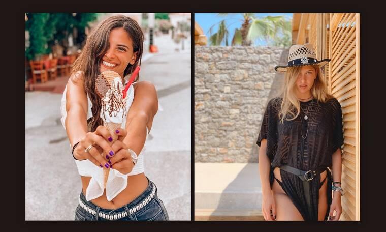 Μπόμπα-Ανδριολάτου: «Τρέλαναν» το Instagram με τα καυτά μπικίνι τους (photos)