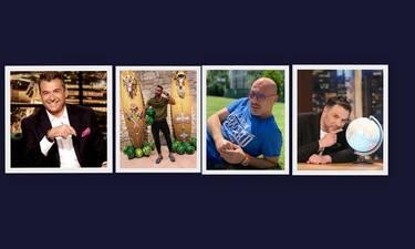 Οι άντρες παρουσιαστές που το 'χουν - Οι λόγοι που μπαίνουν στο Top 5 της τηλεόρασης (photos)