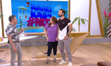 «Καλοκαίρι #not»: Ζαρίφη-Γκότσης επέστρεψαν στο πλατό- Η αντίδραση του Σταματόπουλου (video)