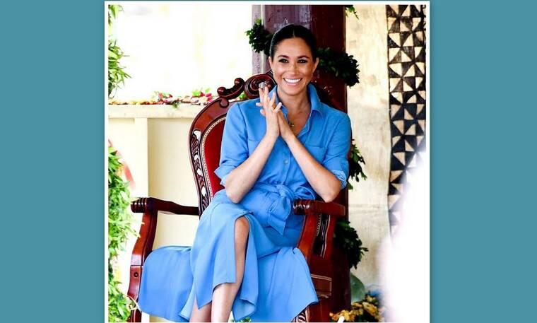 Όταν η Megan Markle πόζαρε κρατώντας περιοδικό με εξώφυλλο την Kate Middleton (photos)