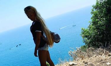 Βικτώρια Καρυδά: Νέες φωτό από το πρώτο μοναχικό καλοκαίρι μετά τη δολοφονία του συζύγου της (pic)