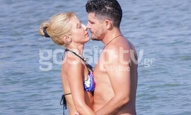 Φραγκάκη - Μάρκογλου: Το beach party λίγο πριν τον γάμο τους - Αυτό είναι το νυφικό της Μαρίας