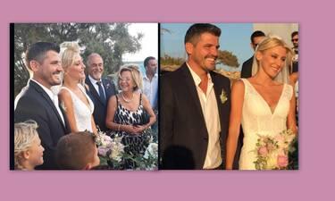 Φραγκάκη - Μάρκογλου: Ο λαμπερός γάμος τους στην Πάρο και το... παρατράγουδο! (Photos & Videos)