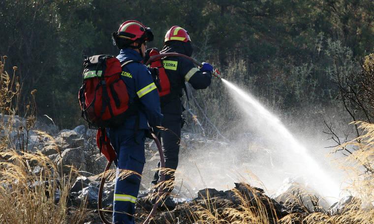 Μεγάλη πυρκαγιά και στη Σαλαμίνα