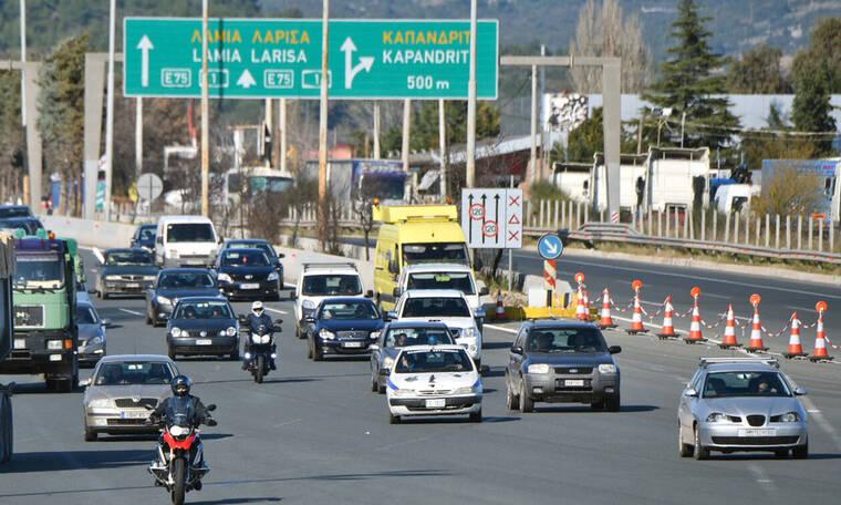 Η επιστροφή των αδειούχων: Αυξημένη κίνηση στις εθνικές οδούς - Η κατάσταση στα διόδια