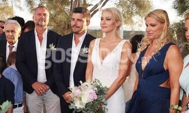 Μαρία Φραγκάκη - Νίκος Μάρκογλου: Το φωτογραφικό άλμπουμ του γάμου τους (photos)
