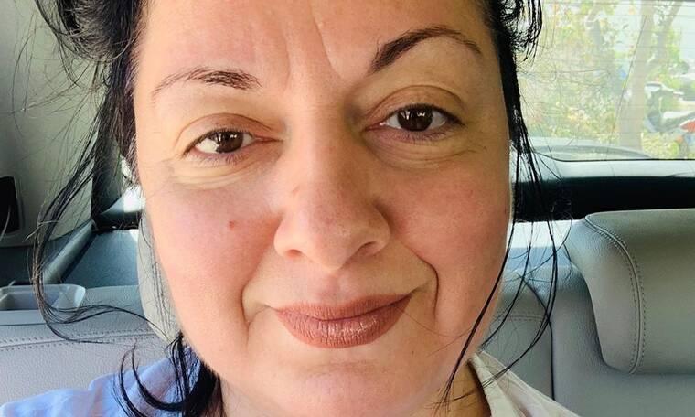 Δύσκολες ώρες για τη Σοφία Μουτίδου - Η φωτό που μας ανησύχησε και το πρόβλημα υγείας (photos)