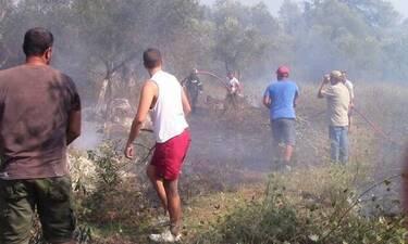 Μεγάλη πυρκαγιά στην Κέρκυρα -Εκκενώνονται δύο χωριά