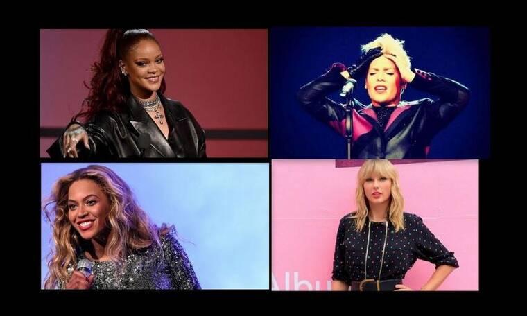 Αυτή είναι η πιο ακριβοπληρωμένη τραγουδίστρια για το 2019 - Ποιες συμπληρώνουν το top 10;  (photos)