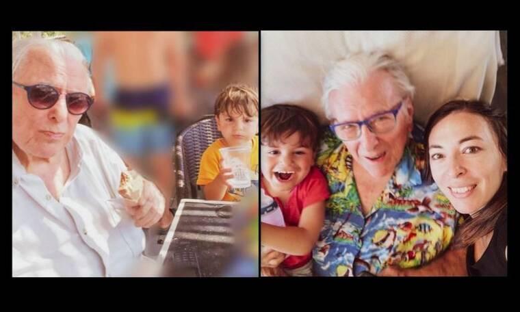 Κώστας Βουτσάς: Το υπέροχο καλοκαίρι που έζησε με τη σύζυγό του & τον γιο του, Φοίβο, μέσα από φωτό